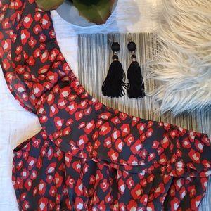 Francesca's One Shoulder Dress